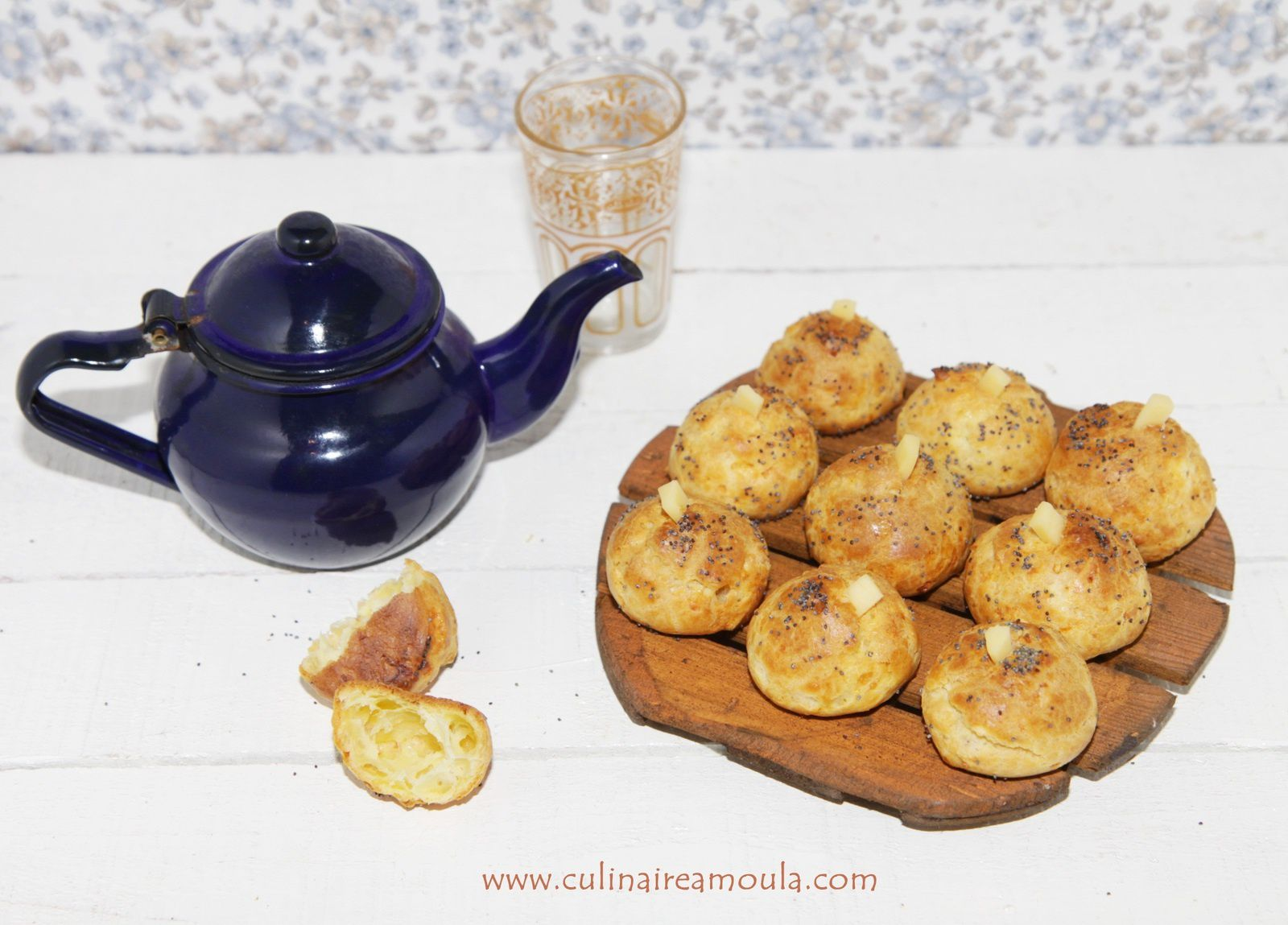 Chouquettes au fromage