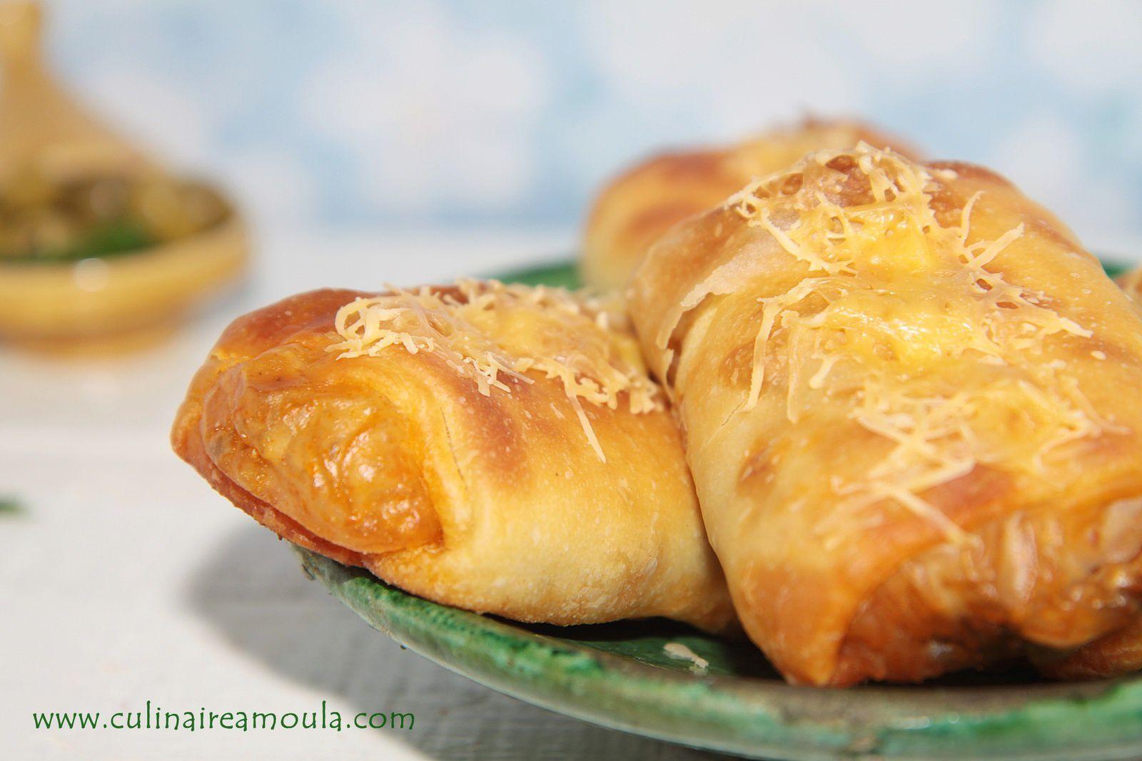 Petits pains façon ghraifs aux crevettes