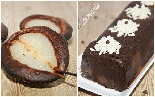 Entre la poire et le chocolat...