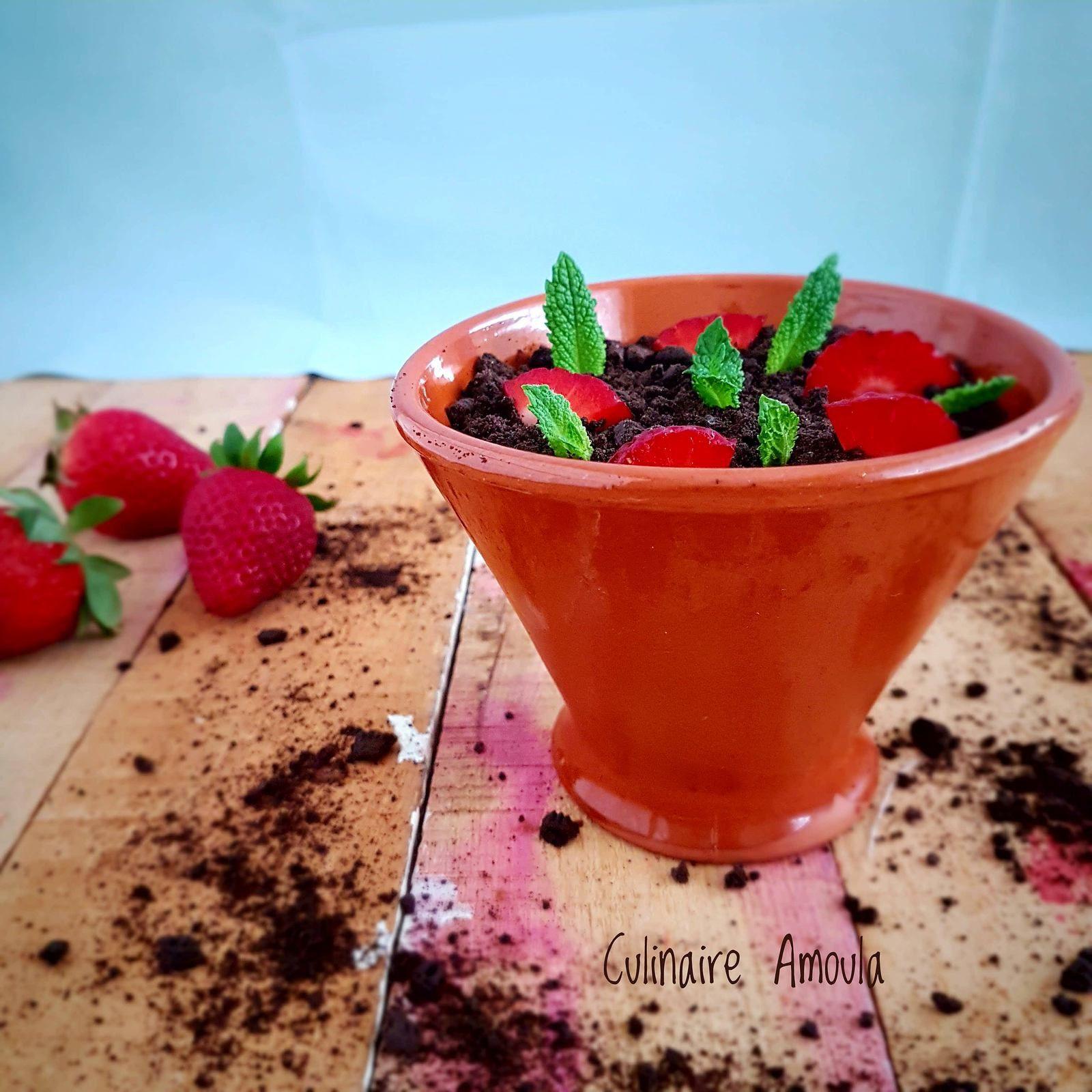 Mousse de fraises