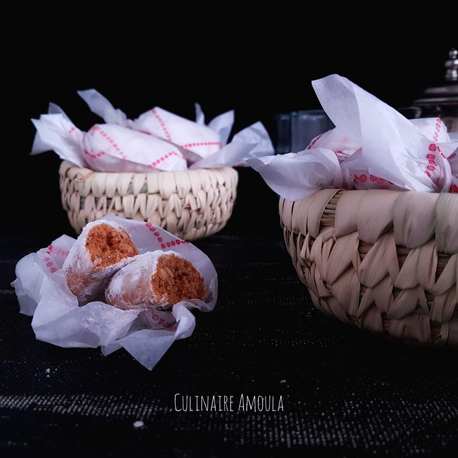 Gâteaux fondants aux cacahuètes