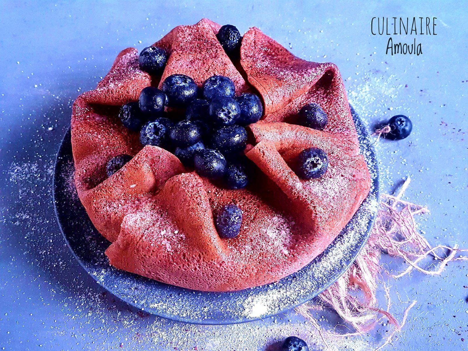 Gâteau de crêpes vanille chocolat