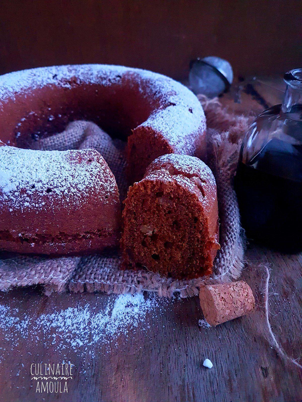 Gâteau à la mélasse de dattes