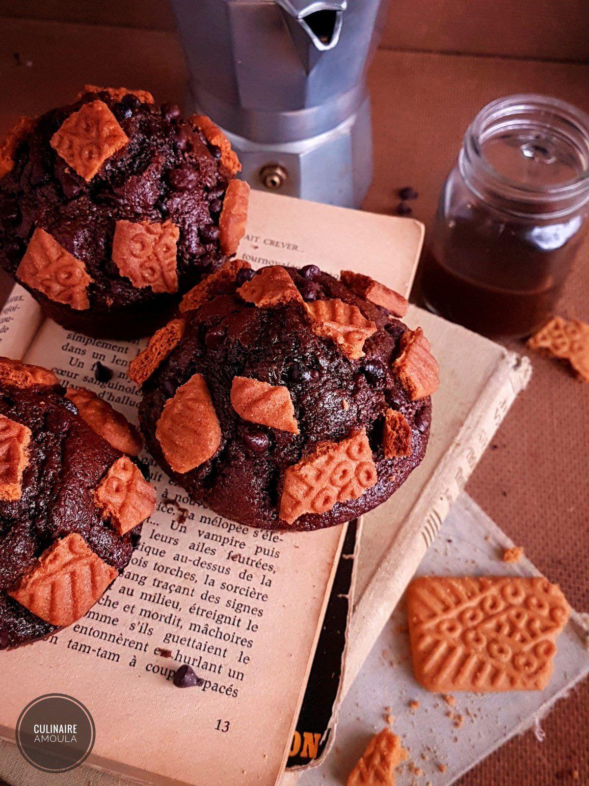 Muffins aux biscuits
