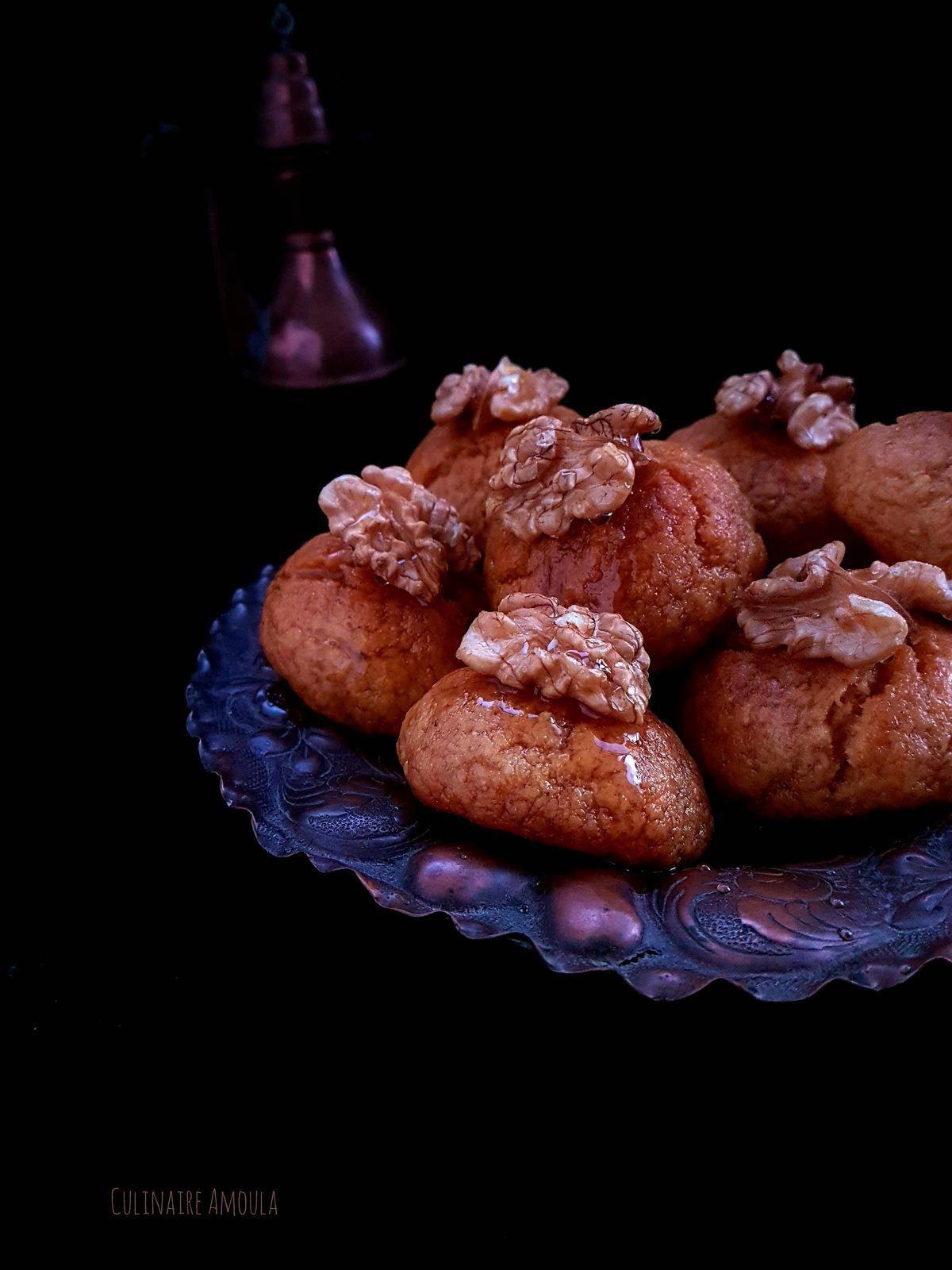"""Sekerpare """"Gâteau turc à la semoule"""""""