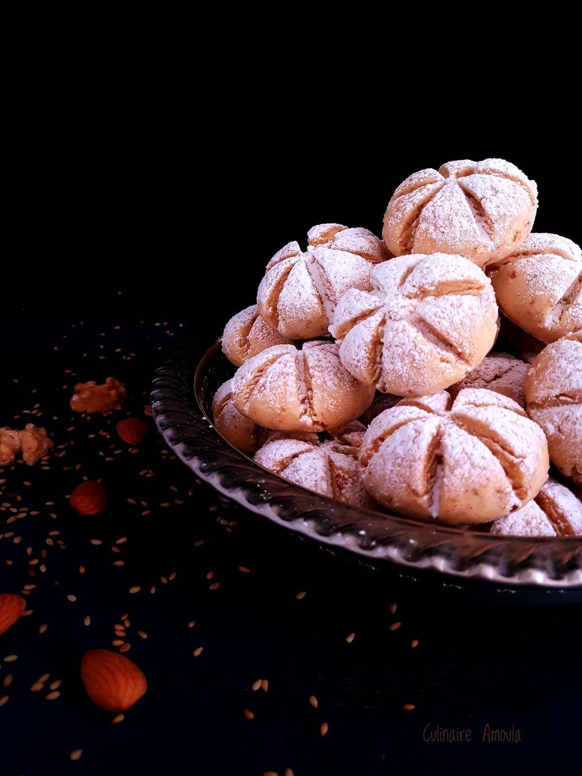 """Ghriba aux fruits secs  """"Halwat El Khalit"""""""