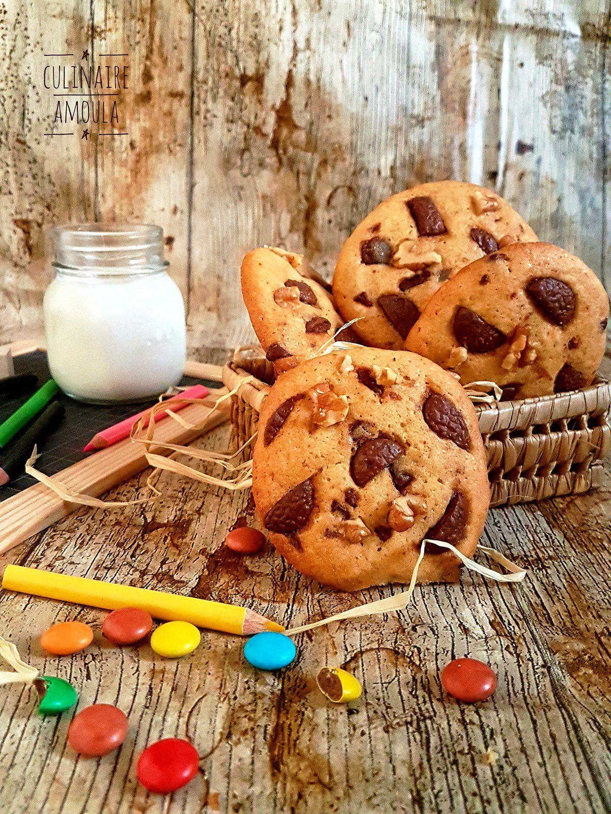 Cookies américains moelleux