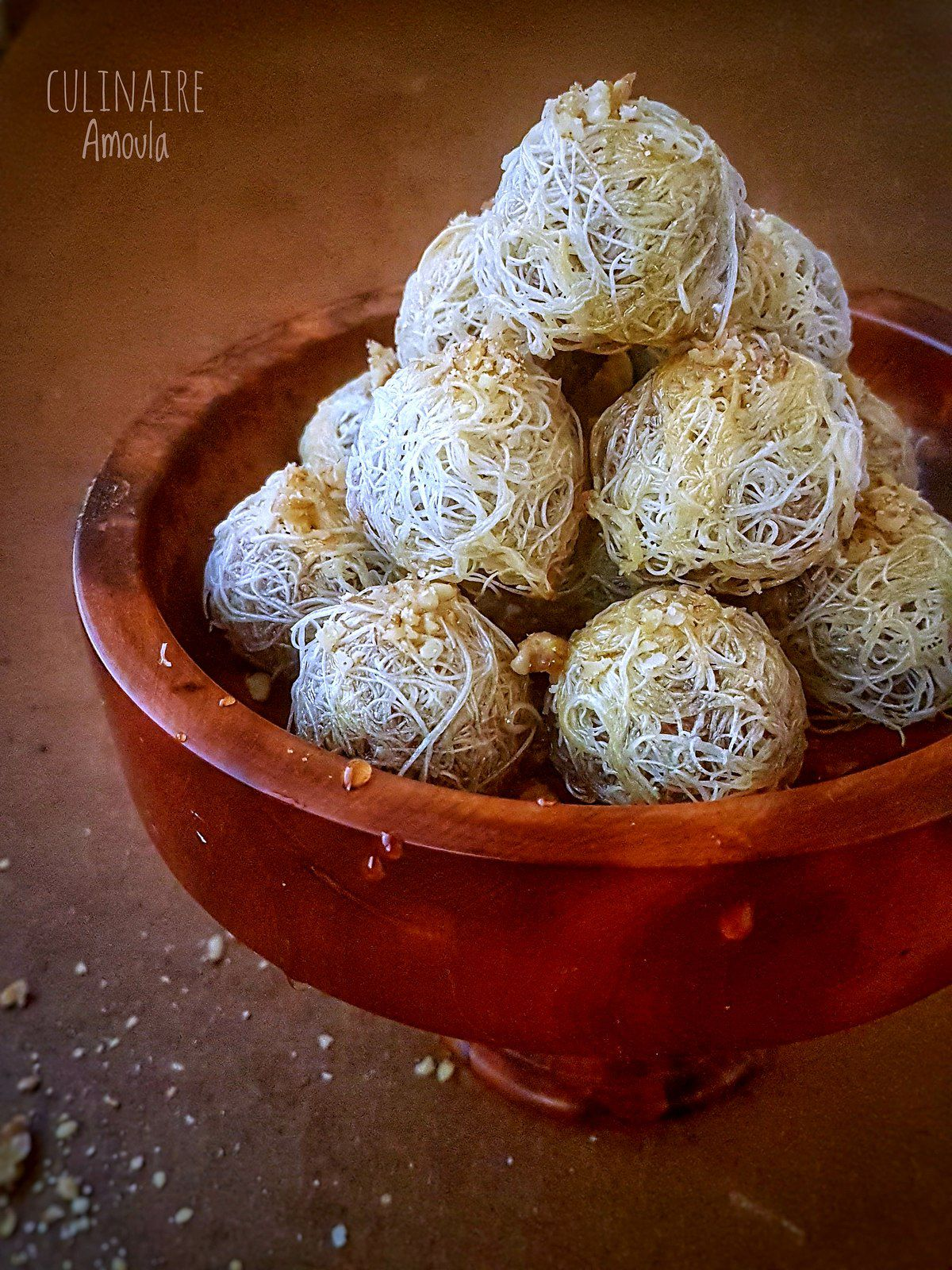 Konafa aux noix