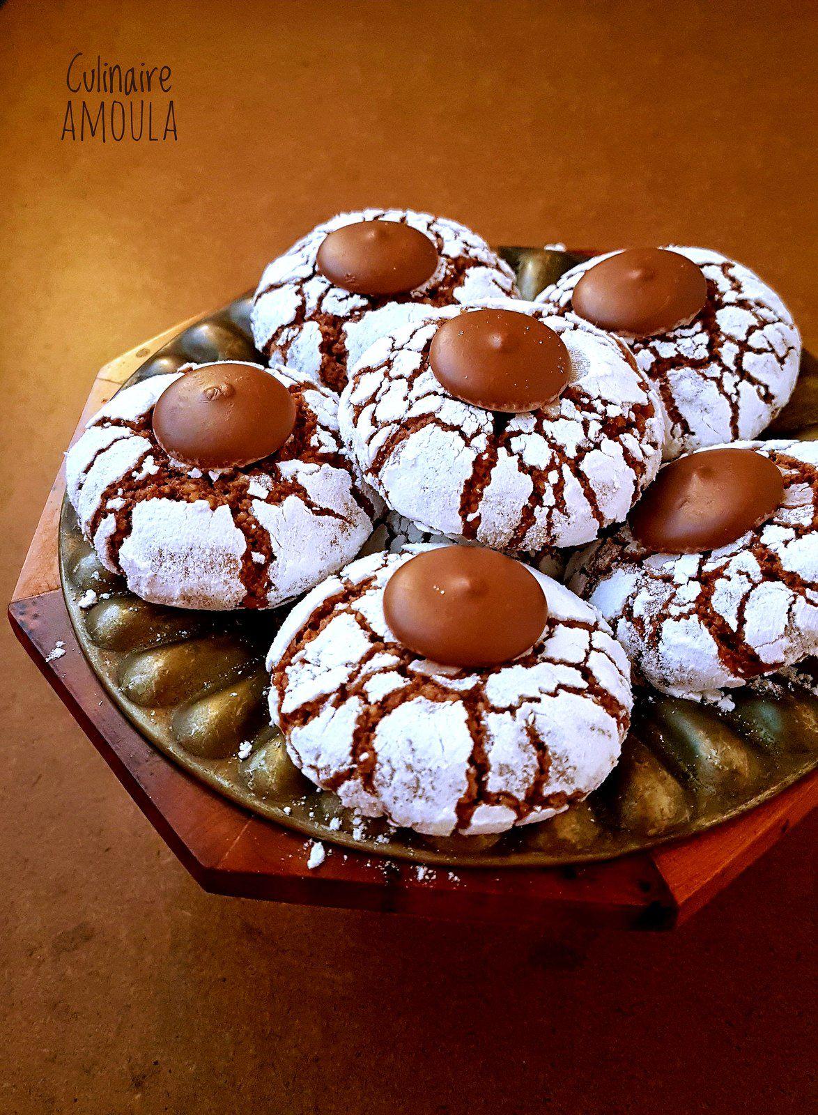 Ghriba aux amandes et au chocolat