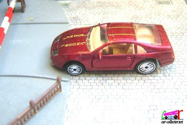 CUSTOM Z NISSAN 300 ZX HOT WHEELS 1/64
