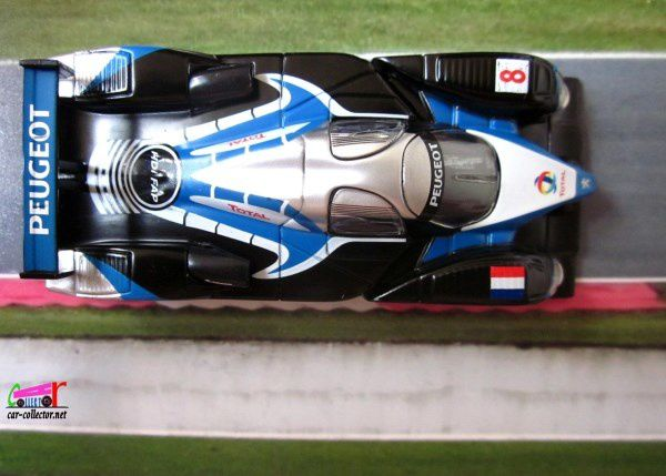 PEUGEOT 908 N°8 HDI FAP LE MANS 2009 NOREV 3 INCHES