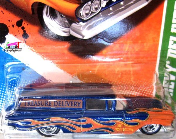 59 CHEVY DELIVERY HOT WHEELS 1/64 - CUSTOM 59 CHEVY VAN - CHEVROLET DELIVERY 1959
