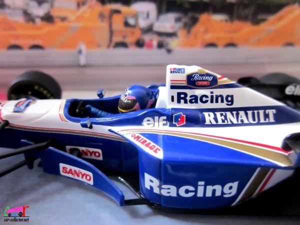 F1 WILLIAMS RENAULT FW 18 1996 JACQUES VILLENEUVE MINICHAMPS 1/43