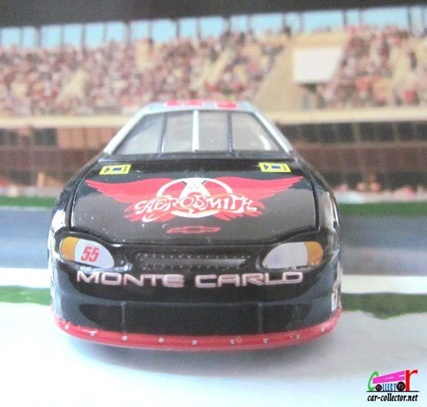 CHEVROLET MONTE CARLO AEROSMITH NASCAR KENNY WALLACE 1999 CHASSIS DEMONTABLE HOT WHEELS 1/43