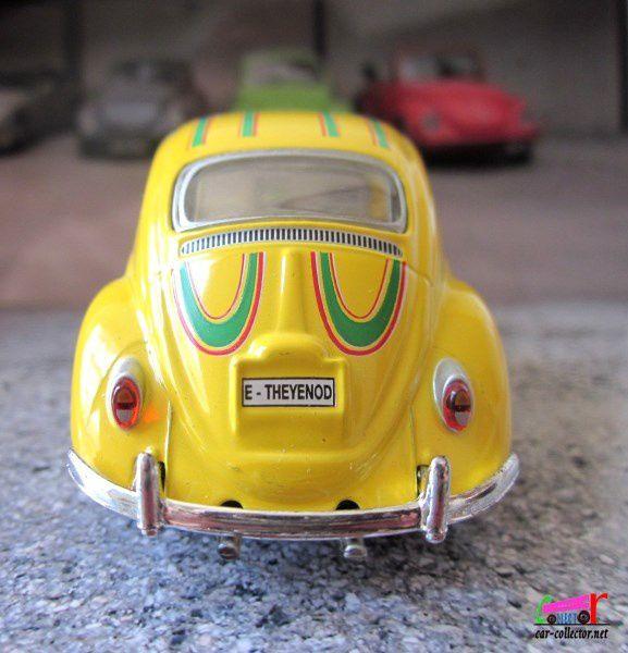 VW COX RALLYE SPONSOR SIMILI SCHUCO 1/43 - VW KAFER RALLY #8 TEAM SIMILI