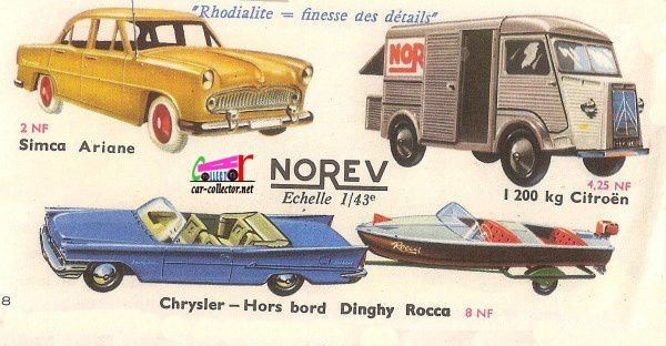 CATALOGUE NOREV 1960