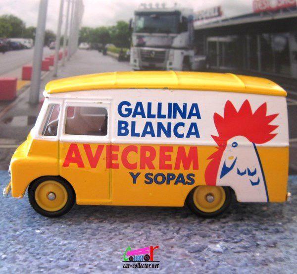FASCICULE N°48 MORRIS LD 150 VAN GALLINA BLANCA AVECREM CORGI
