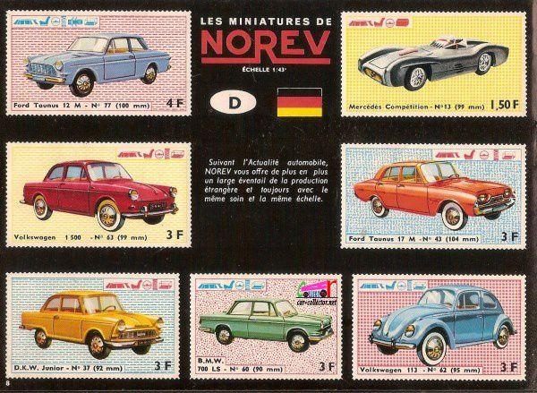CATALOGUE NOREV 1965