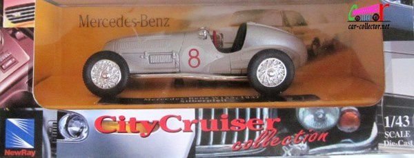F1 MERCEDES W 125 1937 NEW RAY 1/43 - FORMULE 1 MERCEDES W125