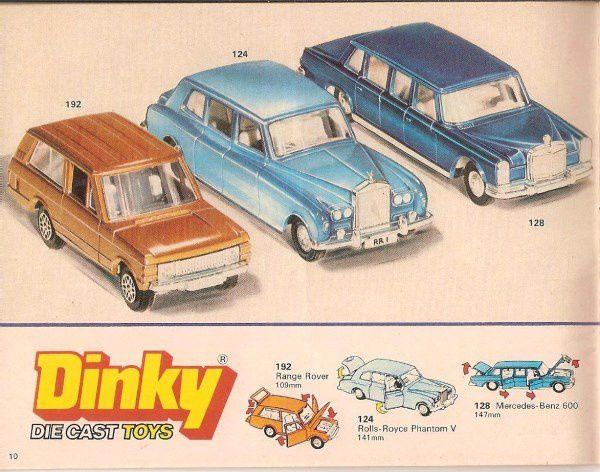 CATALOGUE DINKY TOYS 1977