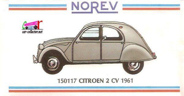CATALOGUE DEPLIANT NOREV 1995 - 1996