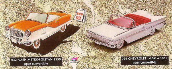 CATALOGUE VITESSE 1993
