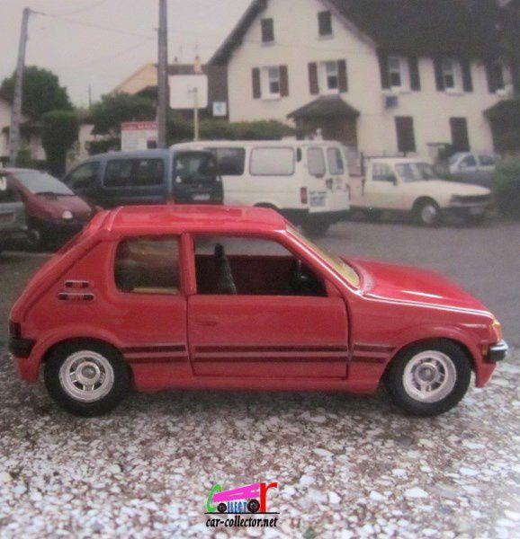 FASCICULE N°51 PEUGEOT 205 GTI SOLIDO 1/43