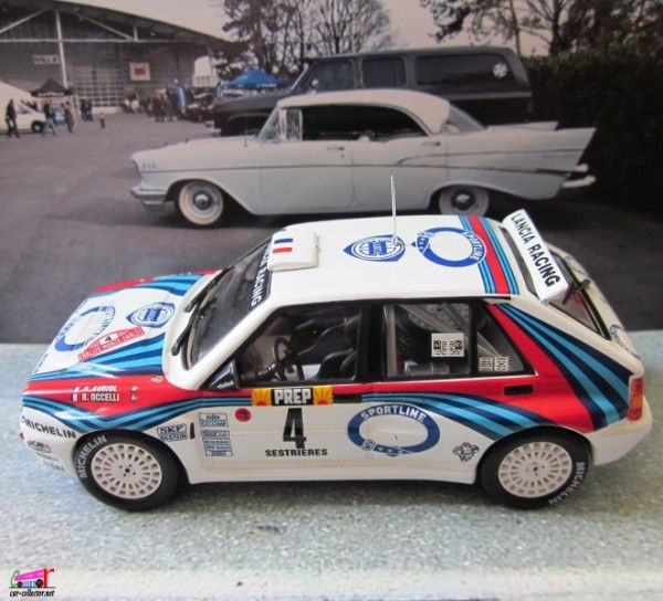 FASCICULE N°69 - LANCIA DELTA INTEGRALE 16V 1992 MONTE CARLO - DIDIER AURIOL BERNARD OCCELLI