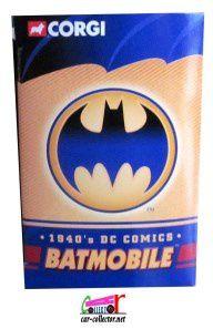BATMOBILE 1940 BATMAN CORGI 1/43 DC COMICS