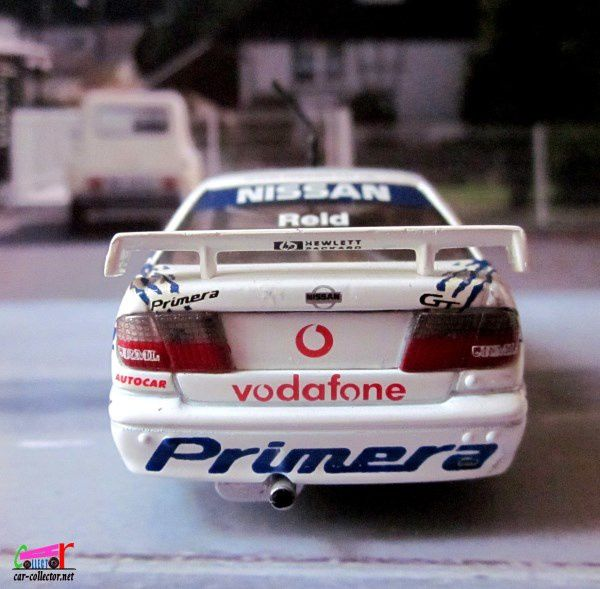 NISSAN PRIMERA GT VODAFONE BTCC 98 ANTHONY REID ONYX 1/43