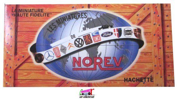 FASCICULE N°42 SIMCA 1501 1967 BORDEAUX NOREV 1/43