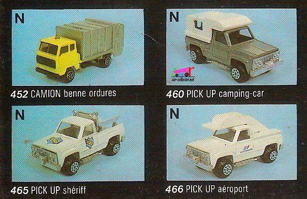 CATALOGUE DEPLIANT NOREV 1984