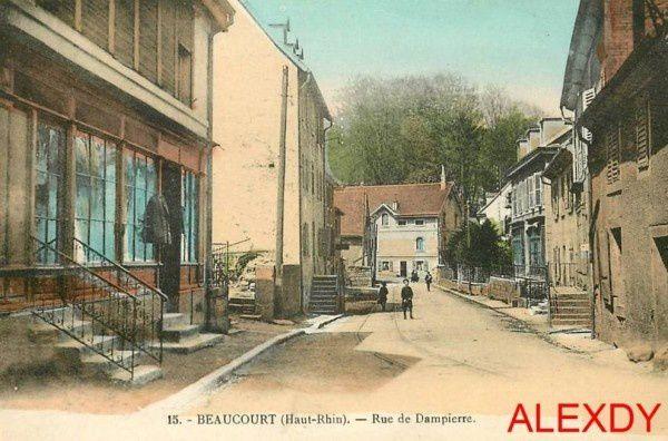 CPA BEAUCOURT (90) TERRITOIRE DE BELFORT - CARTES POSTALES ANCIENNES DE BEAUCOURT - CPABEA