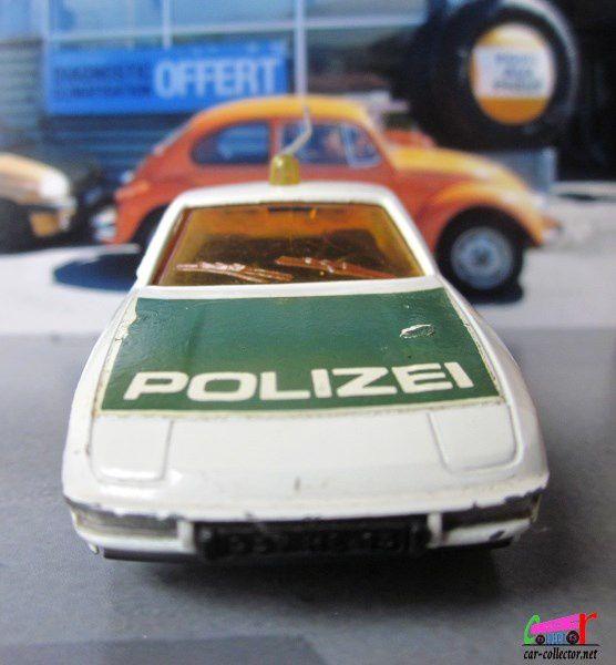 PORSCHE 924 POLIZEI NOREV 1/43