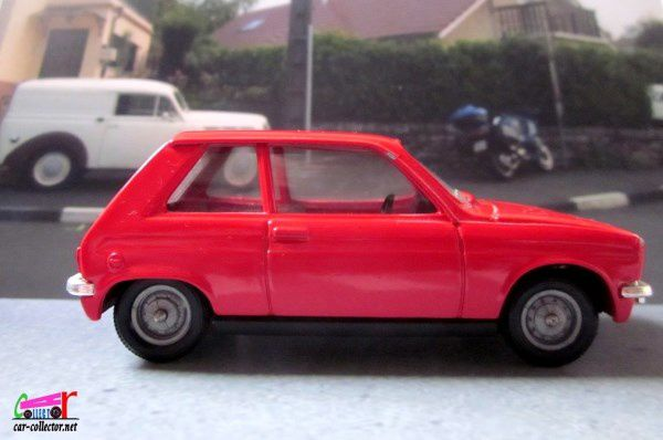 FASCICULE N°86 PEUGEOT 104 ZS 1972 SOLIDO 1/43 - 104ZS