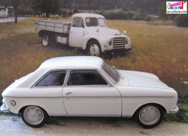 PEUGEOT 204 COUPE 1967 STARTER PROVENCE MOULAGE 1/43