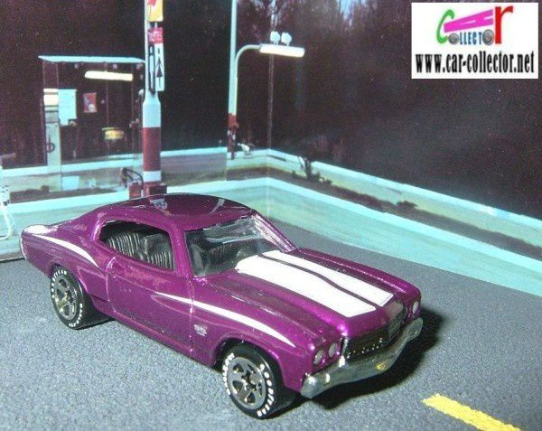 70 CHEVELLE SS HOT WHEELS 1/64 + TAMPO LEXMARK