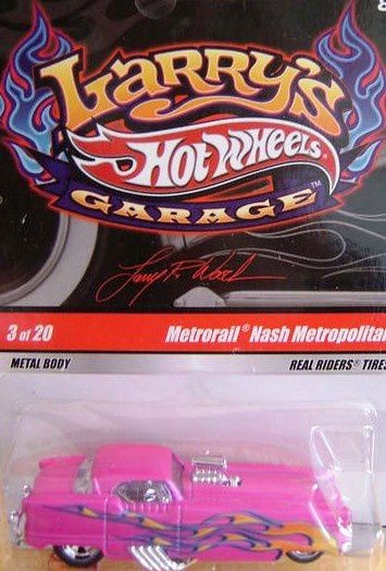 METRORAIL - NASH METROPOLITAN HOT WHEELS 1/64