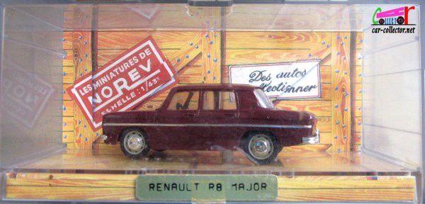 RENAULT 8 MAJOR 1964 NOREV 1/43 - R8 MAJOR
