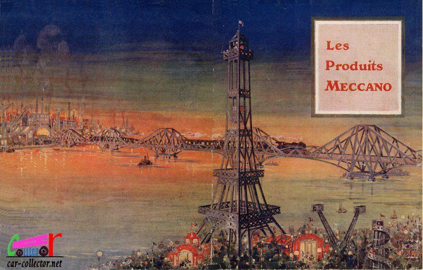 CATALOGUE MECCANO 1923