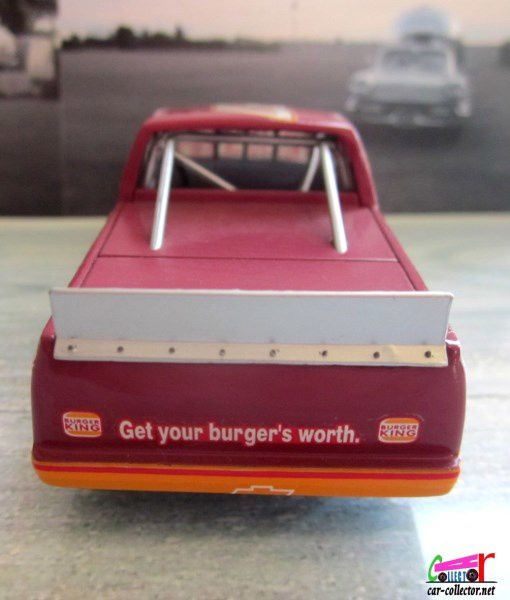 CHEVROLET C1500 PICK UP FAST FOOD BURGER KING QUARTZO 1/43