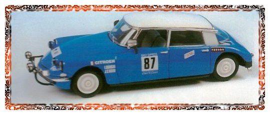Bianchi / Ogier, Londres-Sidney 1968, fabricant Vitesse, réf: L126