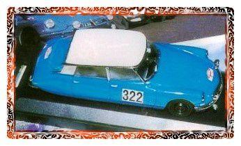 Parmi les décalcomanies de CB Com figurent quatre versions du Monte-Carlo 1964 (réf: 43.08)