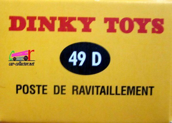 POSTE DE RAVITAILLEMENT DINKY TOYS REEDITION ATLAS