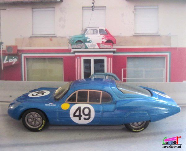 RENAULT ALPINE M63 LE MANS 1963 TOP MODEL COLLECTION 1/43