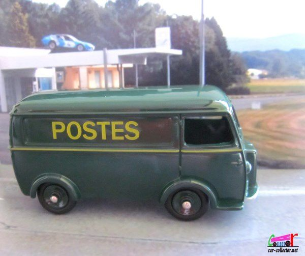 PEUGEOT D3A FOURGON POSTAL DINKY TOYS REEDITION ATLAS