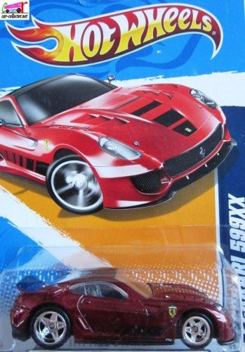 FERRARI 599 XX HOT WHEELS 1/64 - F599XX