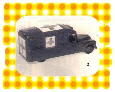Daimler Ambulance 30 HM or 624