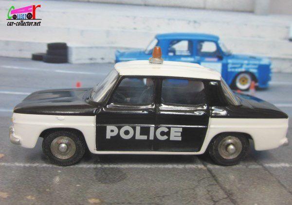 RENAULT 8 POLICE DAN-TOYS 1/43 - R8 POLICE DANTOYS