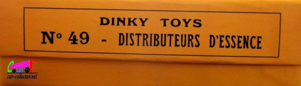 COFFRET DE 5 DISTRIBUTEURS D'ESSENCE DINKY TOYS REEDITION ATLAS